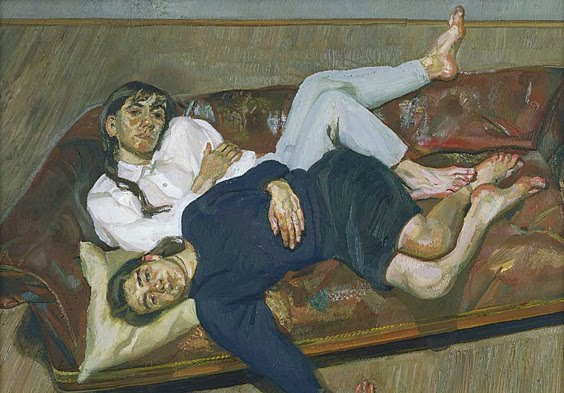 lucian freud, Bella and Esther