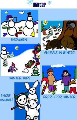 Un juego para aprender sobre el invierno: Juegos online en Sheppard Software
