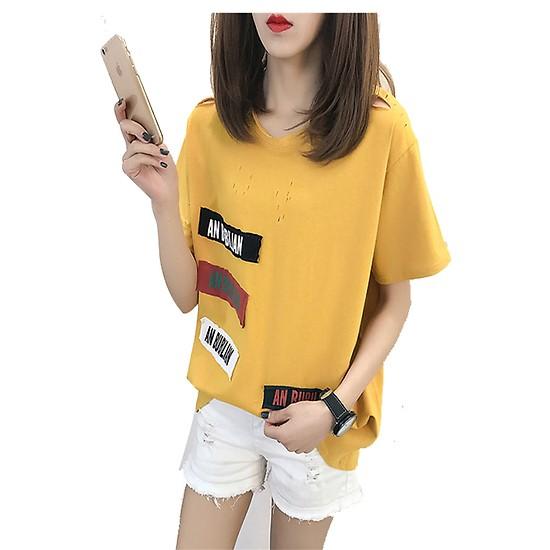 Áo thun an bubilian màu vàng