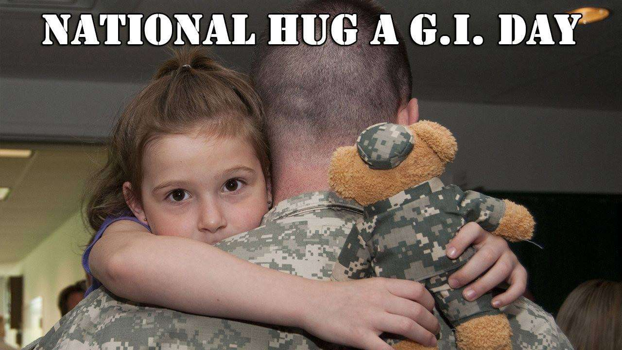 National Hug a G.I. Day Wishes