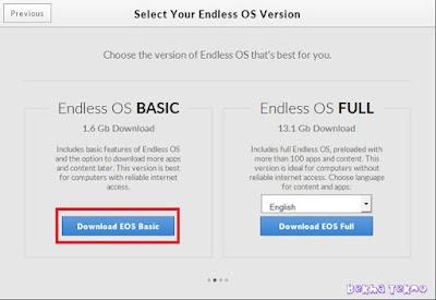 Update Tutorial Lengkap Cara Instal OS Endless Via Flashdisk Menggunakan Image File Terbaru