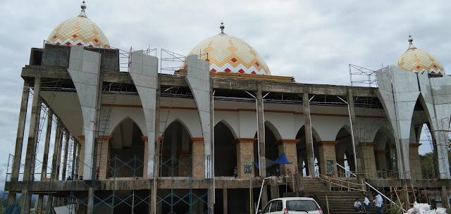 Pemkab Target Pembangunan Islamic Center Rampung Bulan Maret