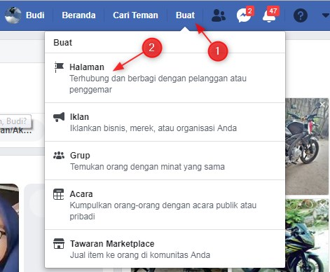 Cara Membuat Fanspage Facebook di Pc dan Android