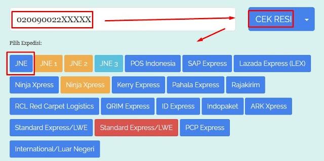 Cek Resi Online Jasa Ekspedisi