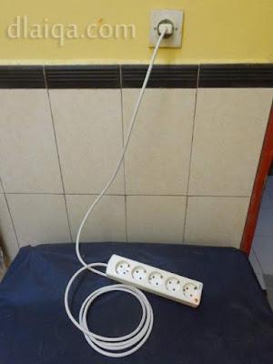 hubungkan ke jaringan listrik rumah