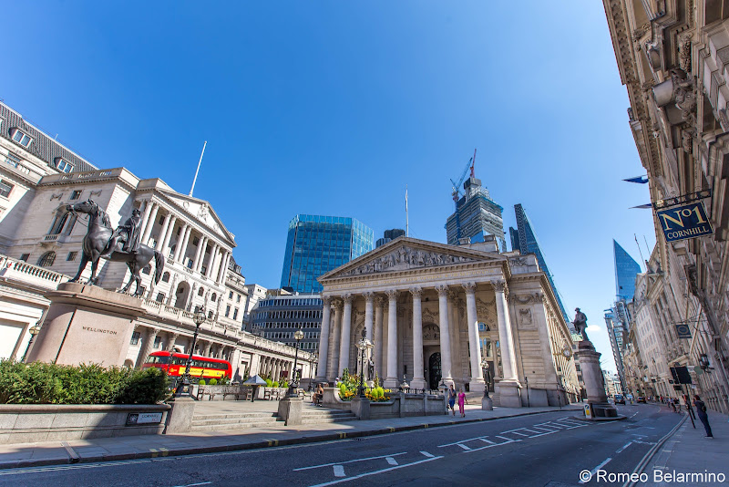 Royal Exchange and Bank of England What to Do With a Long Layover in London