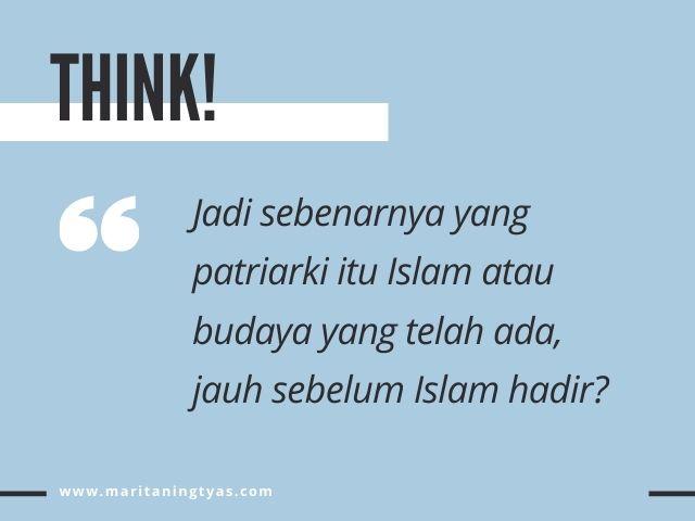 islam agama patriarki