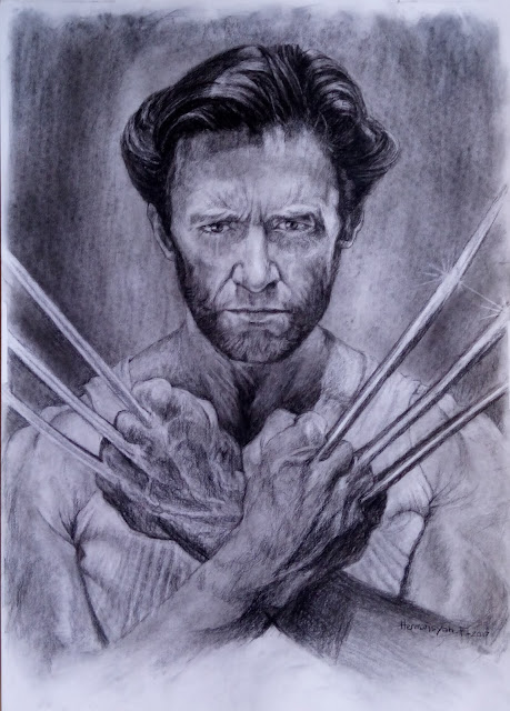 Logan Wolverine Drawing