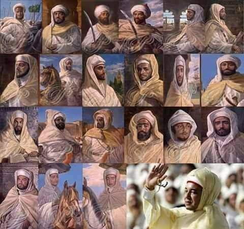 ملوك الدولة العلوية الشريفة مفخرة العرب و المغاربة عبر التاريخ