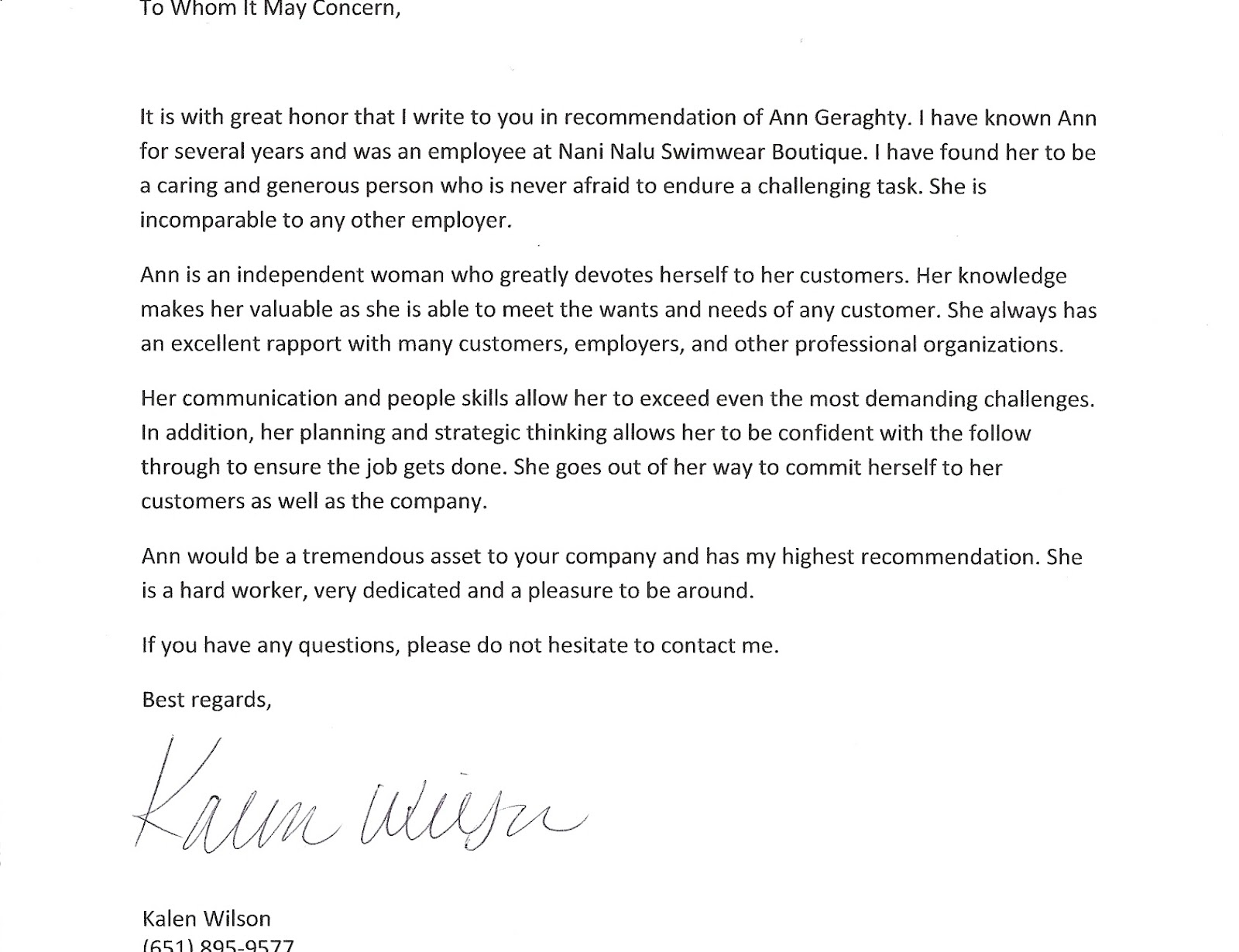 Letter Of Recommendation For Sales Manager - Sales Manager Cover