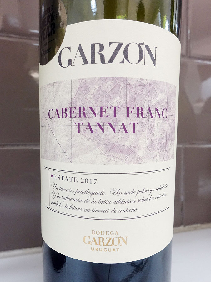 Garzón Estate Cabernet Franc/Tannat 2017 (89 pts)