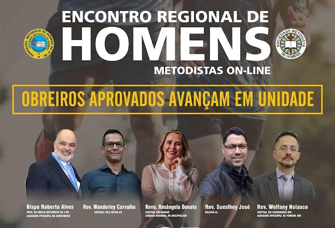 Encontro Regional de Homens Metodistas on-line