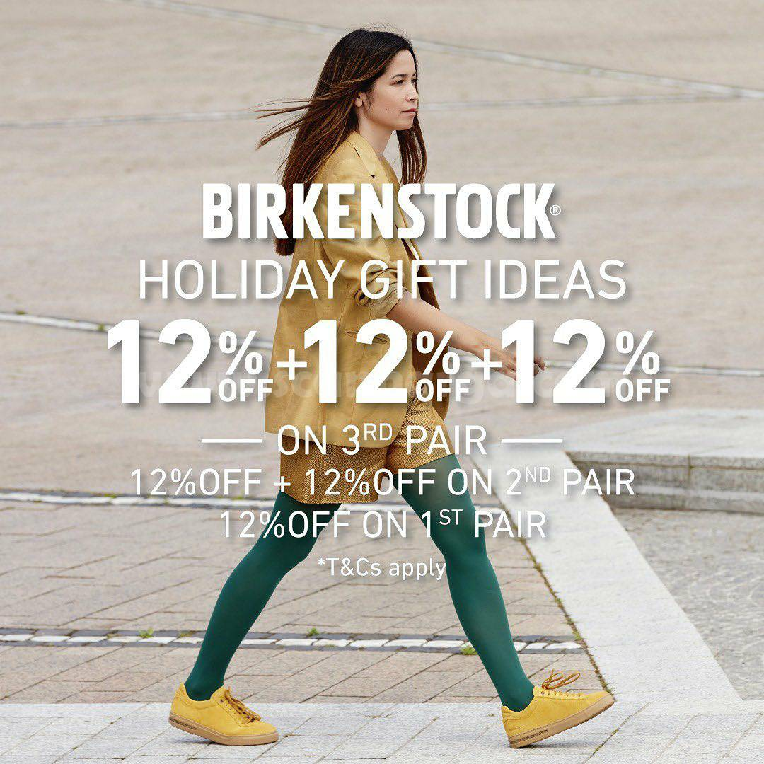 BIRKENSTOCK Promo 12.12 – Super Deal holiday gift ideas!