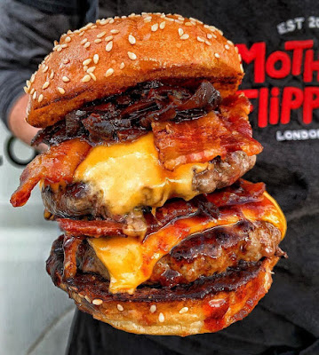 Hamburguesa de Mother Flipper en Londres