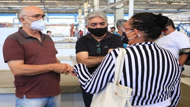 Prefeito Dr° Ivanes faz inspeção nos mercados públicos de Patos e garante melhorias nesses logradouros