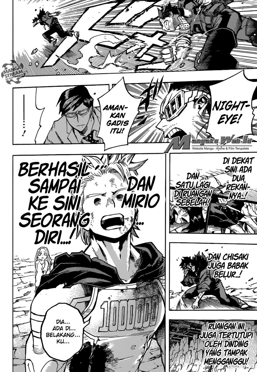 Boku no Hero Academia – Chapter 153 : Perubahan