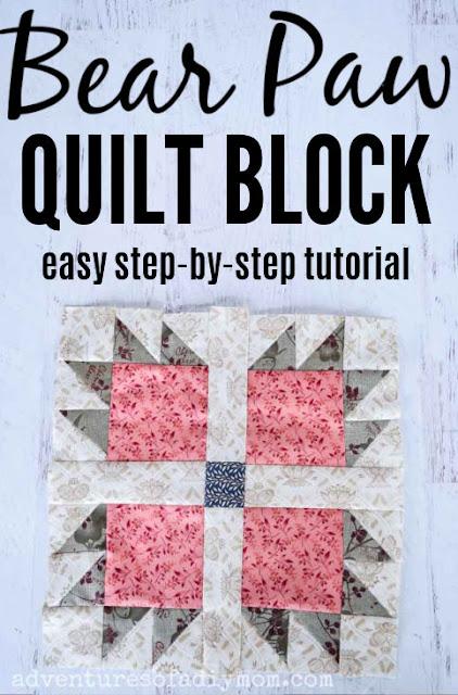 bear paw quilt block