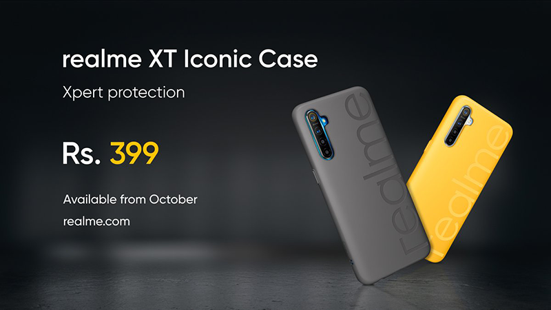 Realme XT Iconic Case, Buds Wireless, and 10,000 mAh Power Bank launched