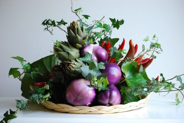 vegetable arrangements ideas