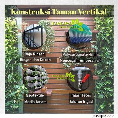 Tukang taman vertical garden surabaya