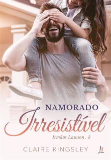 Livros | Namorado Irresistível - Claire Kinsgley