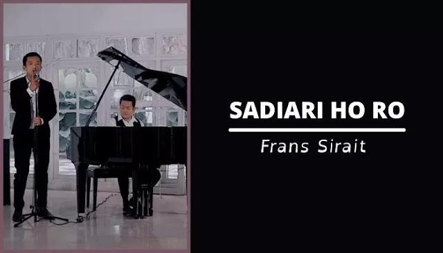 Chord Sadihari Ho Ro | Frans Sirait