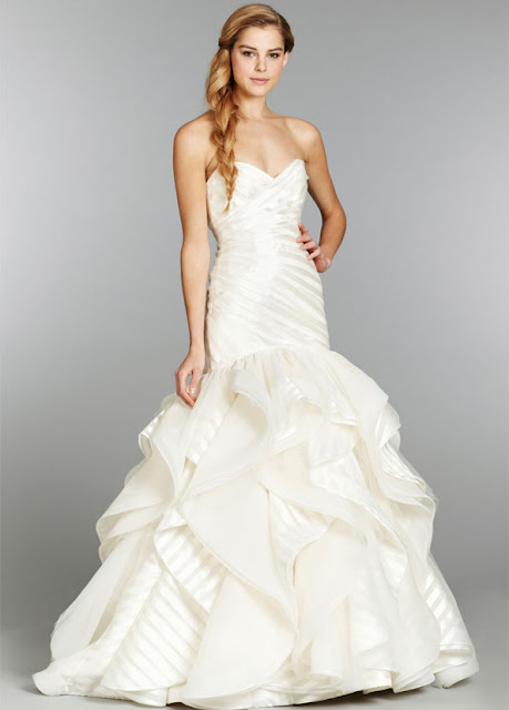 Used Hayley Paige Wedding Dress