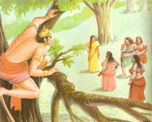 श्रीरामचरितमानस: हनुमान का अशोक ...