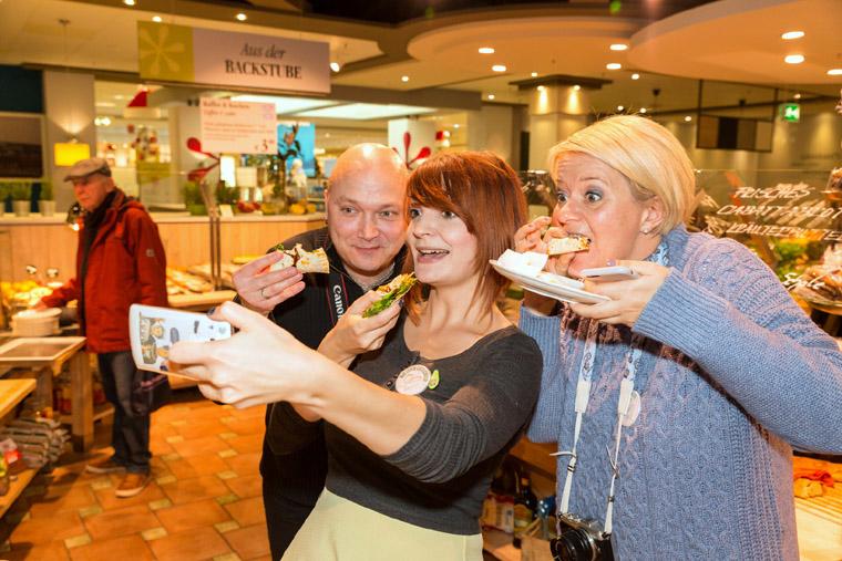 Selfie-Time beim #galeriafooddate im Leonhard's