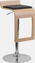 Modern Wood Bar Stool