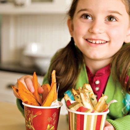 Ellie's Oven Fries Recipe
