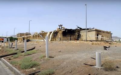 Natanz Nuclear facility Damage Iran