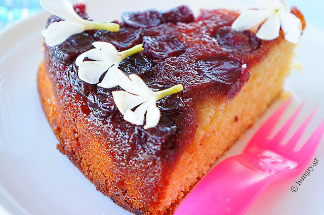 Cherry Upside-Down Cake
