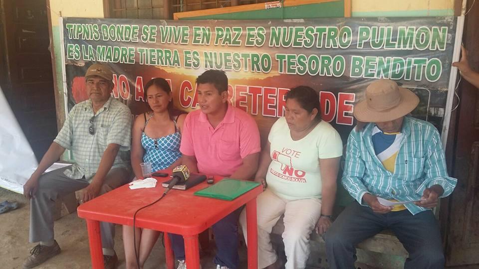 Fabián Gil es el nuevo líder indígena llamado a defender el TIPNIS