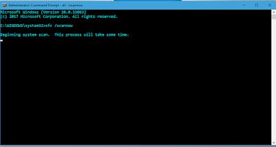 perbaiki file system window korupt