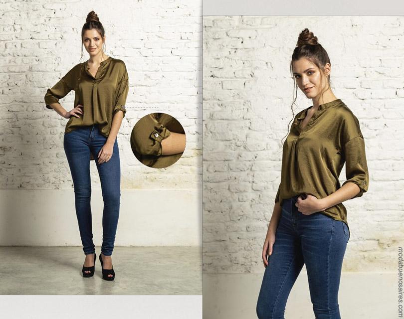 Blusas y camisetas primavera verano 2020 moda mujer.