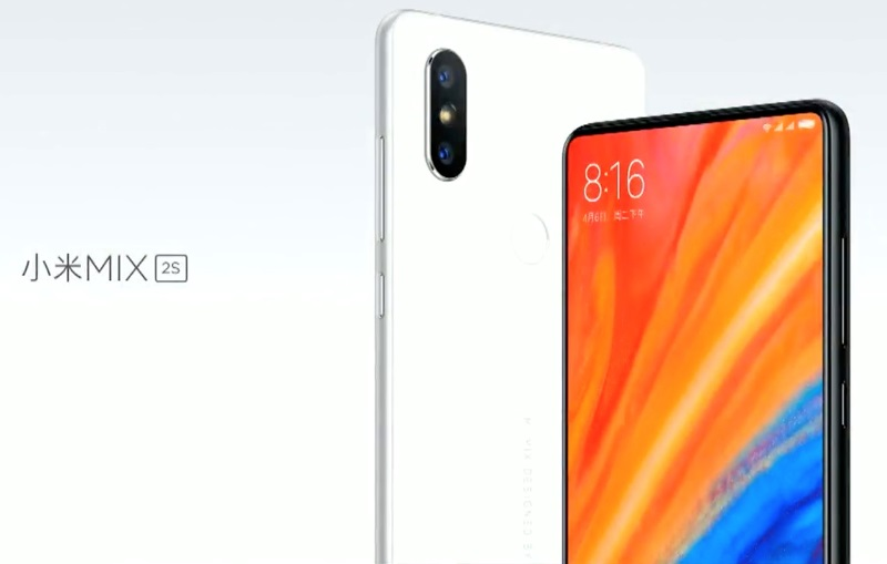 Xiaomi Mi MIX 2S with A.I. Technology Revealed; 18:9 Display, Snapdragon 845 and 8GB RAM