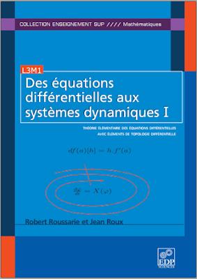Télécharger Livre Gratuit Des équations différentielles aux systèmes dynamiques Tome 1 pdf