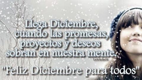 Diciembre, Fechas importantes del año, Fin del año, Mensajes navideños, Año Nuevo, Mensajes de Saludos, Promesas, Deseos, Los Colores de la vida, Años, Navidad,