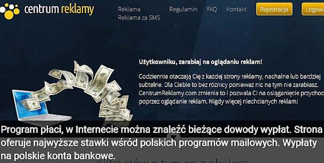 Program płaci, w Internecie można znaleźć bieżące dowody wypłat. Strona oferuje najwyższe stawki wśród polskich programów mailowych. Wypłaty na polskie konta bankowe.