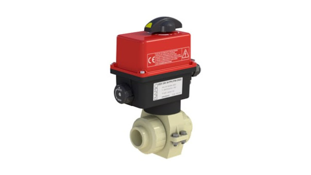 Bamo Electrically Actuated 2-Way Ball Valves VE2V S4-PPH