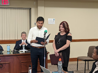 Town Council Meeting - 10/06/21 - Three audio segments available