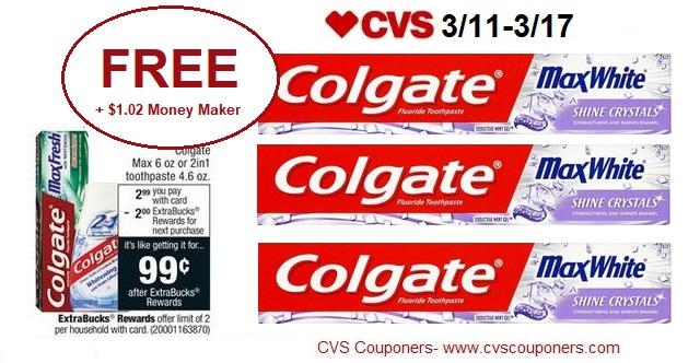 http://www.cvscouponers.com/2018/03/free-102-money-maker-for-colgate-max.html