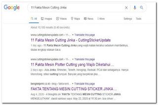 berita mesin cutting jinka