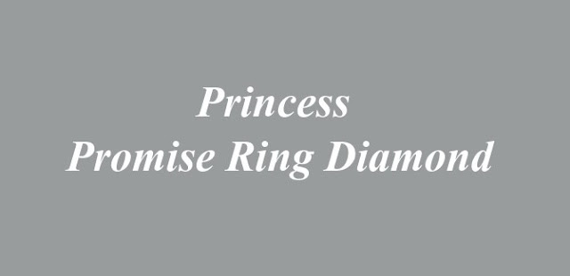 Princess Promise Ring