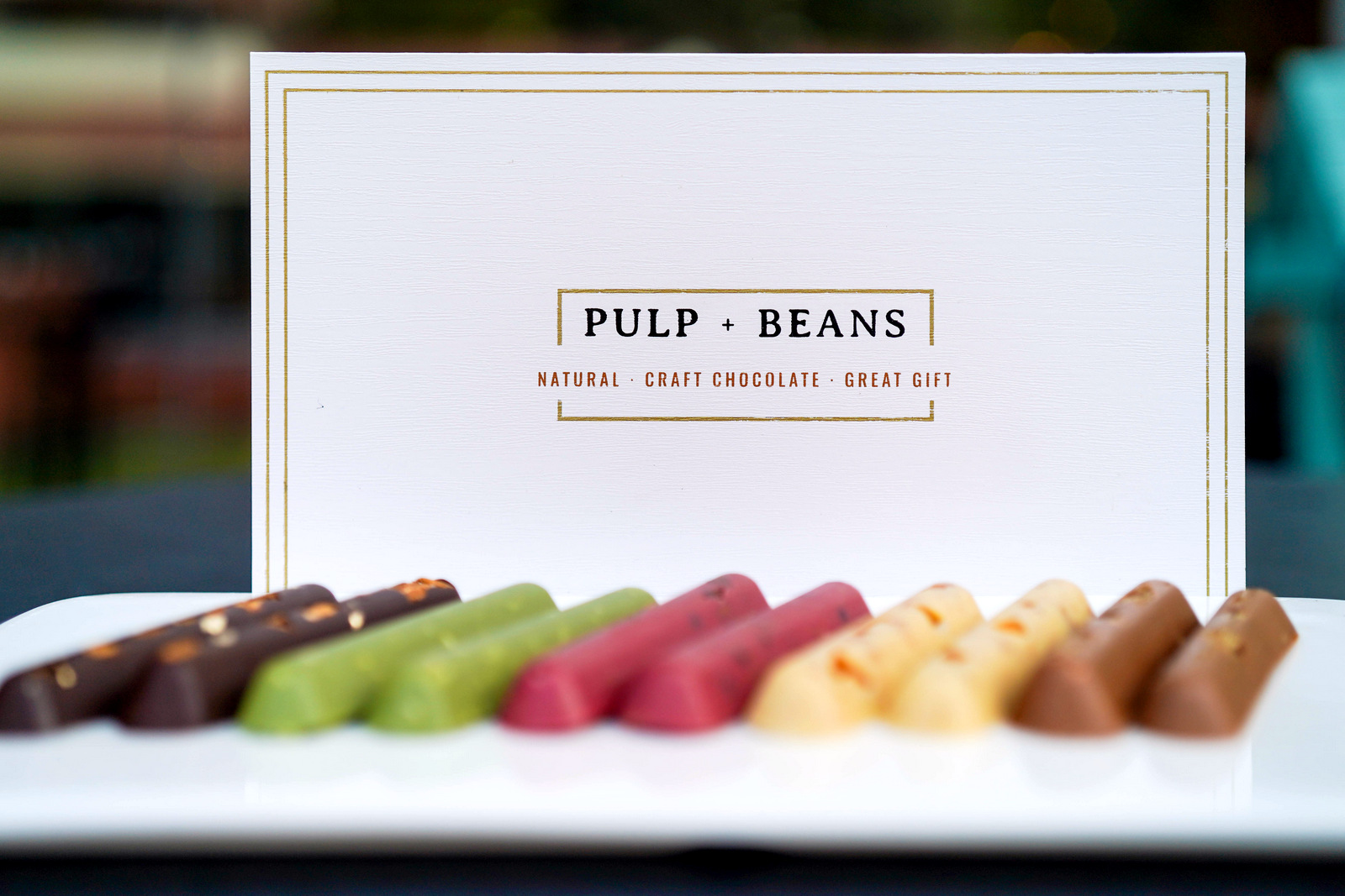 Pulp + Beans: Craft Chocolate Gifts in Five Natural Flavours