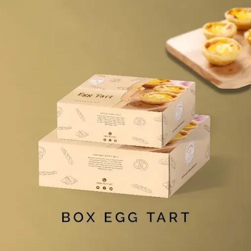 Cetak Box Egg Tart