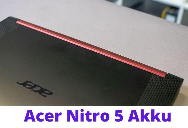 Acer Nitro 5 temperatures