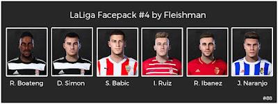 PES 2021 LaLiga Facepack #4 by Fleishman
