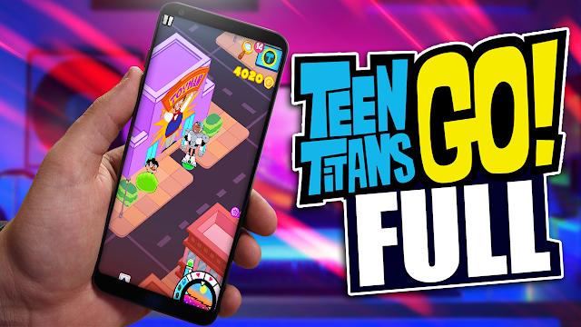 Minititanes - Teen Titans Go (Full) v1.2.6 Para Teléfonos Android [Apk]